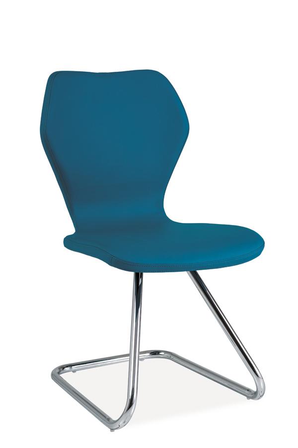 HK-677 jedálenská stolička, modrá