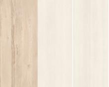 Rohová skriňa BEST 01 / breza / biela LINEA   Farba: breza/biela/biela,,LINEA