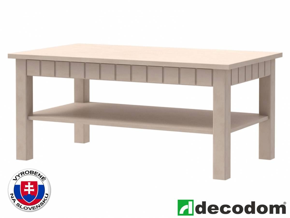 Konferenčný stolík Decodom Lirot Typ 45 (vanilka patina)