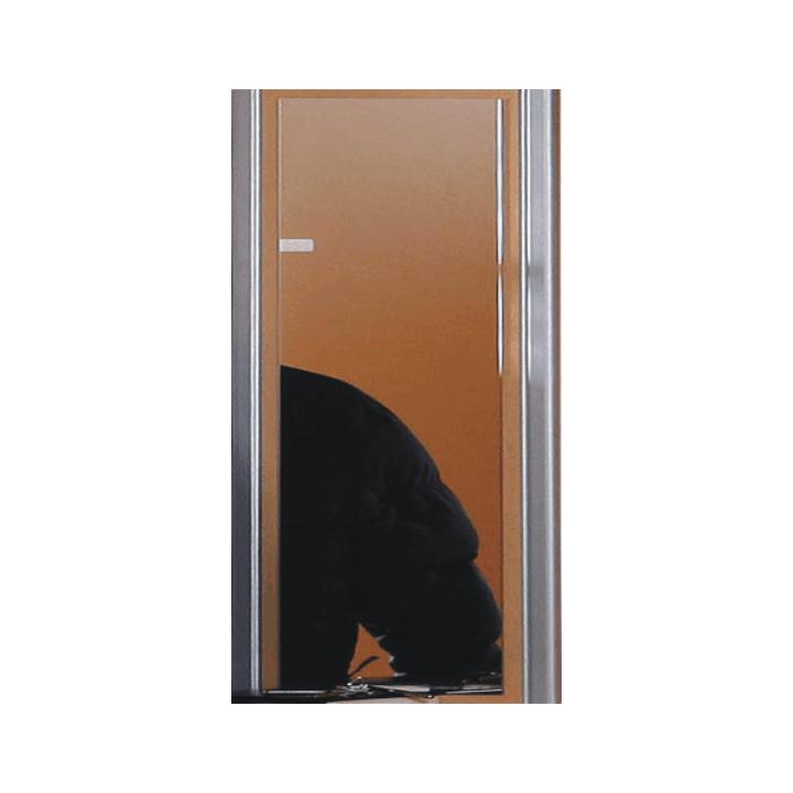 TEMPO KONDELA Zrkadlo, buk strieborné, LISSI TYP 05