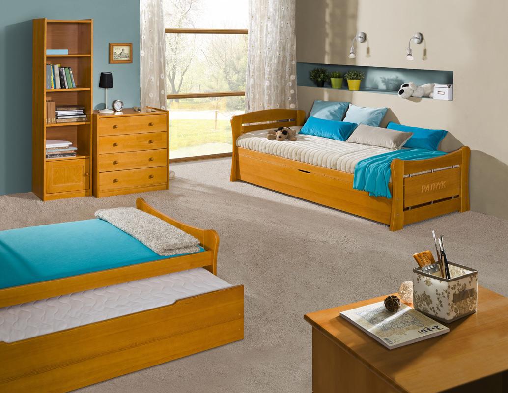 PAŤO 1 posteľ s úložným priestorom