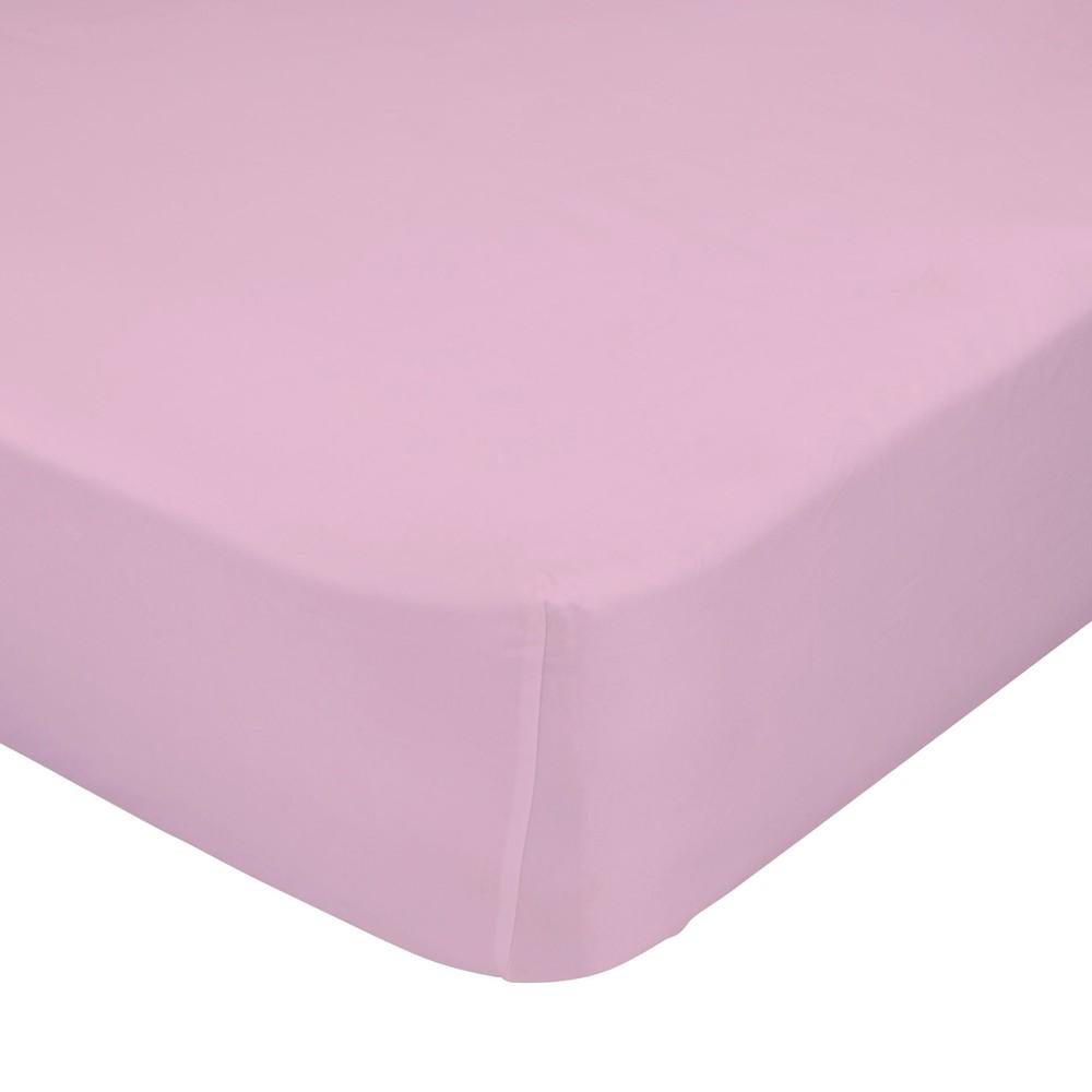 Ružová elastická plachta Happynois, 90x200 cm