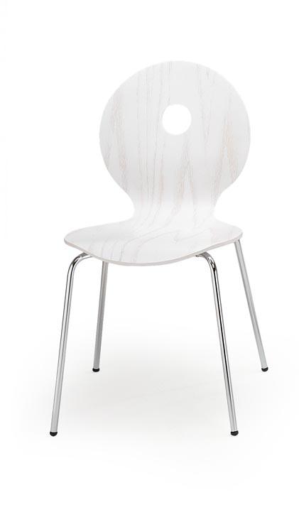 Jedálenská stolička K233 (biela)