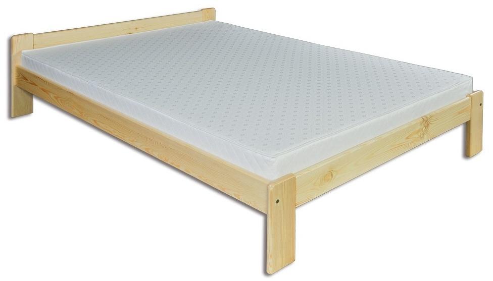 Manželská posteľ 140 cm LK 107 (masív)