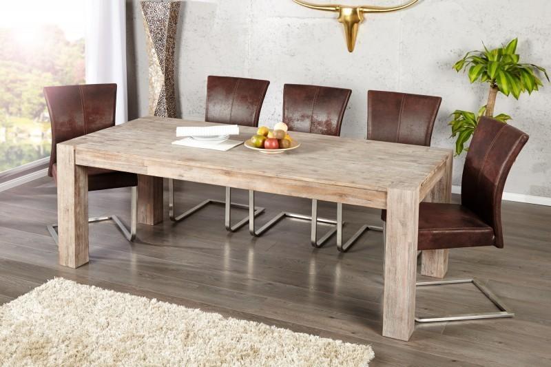 Jedálenský stôl MONTREL 200 cm - prírodná