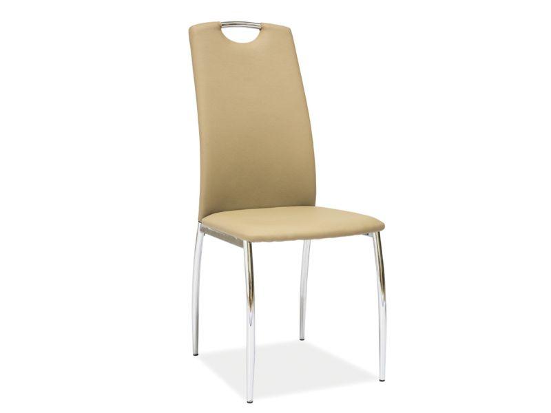 Jedálenská stolička H-622 (ekokoža hnedá)