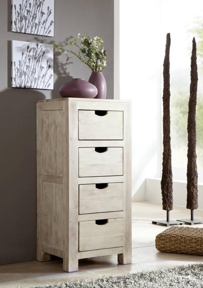 NATURE WHITE komoda #54 lakovaný agátový nábytok