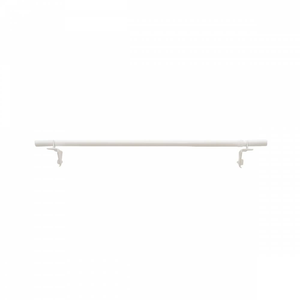 Gardinia Vitrážna tyčka vzperná Press & Go valec biela, 30 - 50 cm