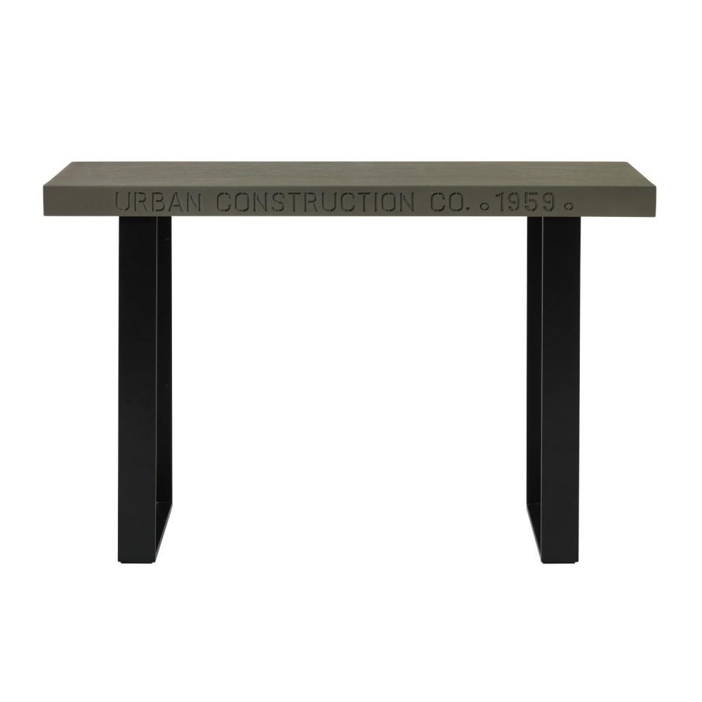 Konzolový stolík s betónovou doskou Fuhrhome Chicago