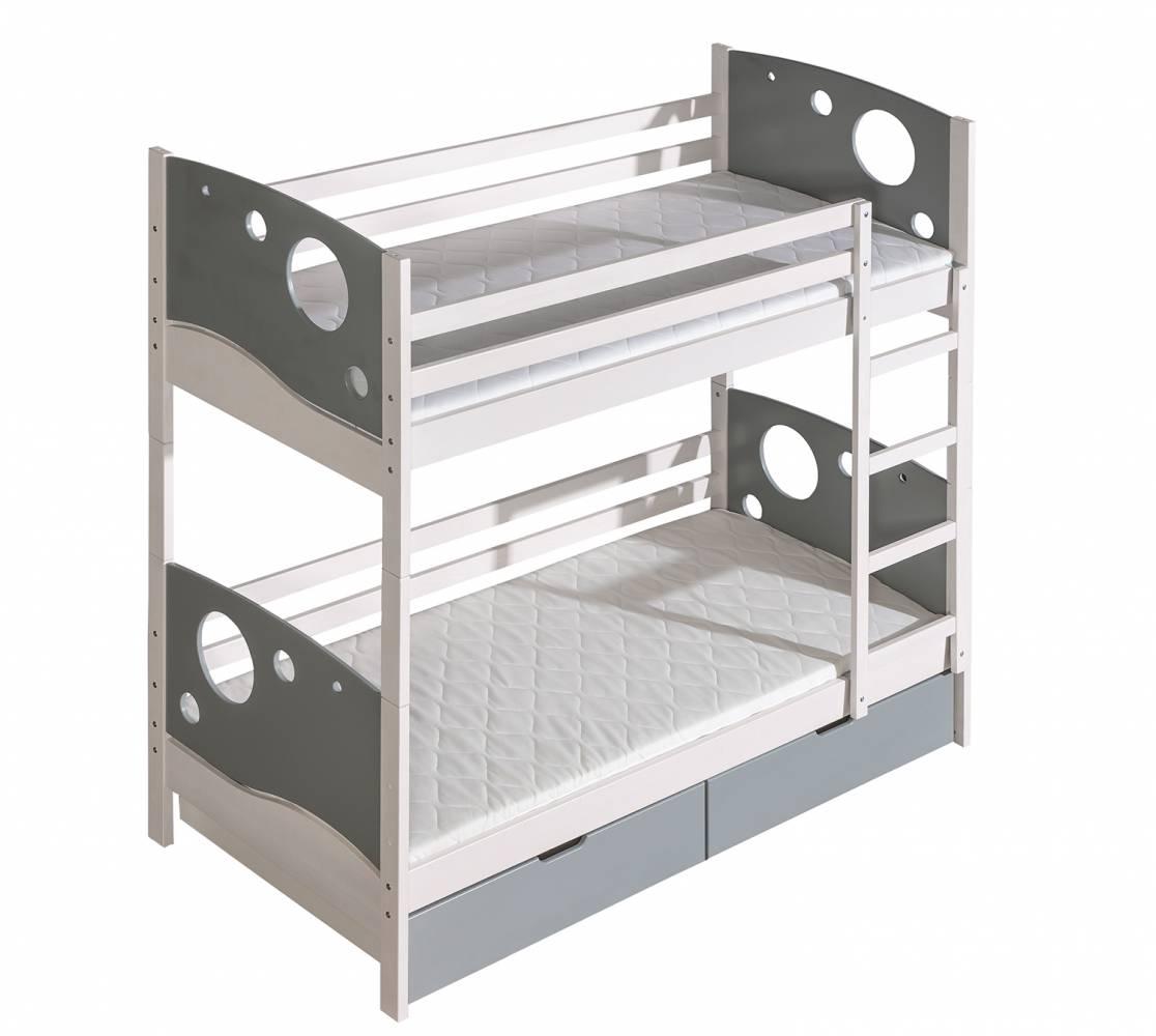Poschodová posteľ 80 cm