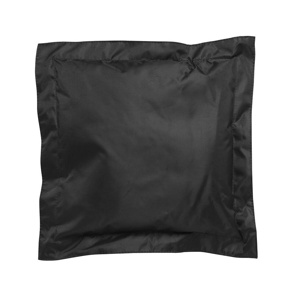 Čierny vonkajší vankúšik Sunvibes, 65×65 cm