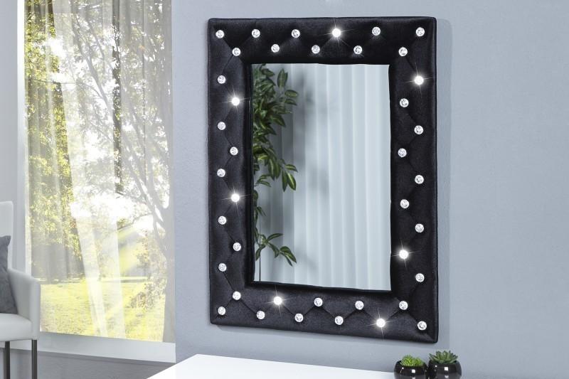 Zrkadlo na stenu BUTIQUE M BLACK - čierna