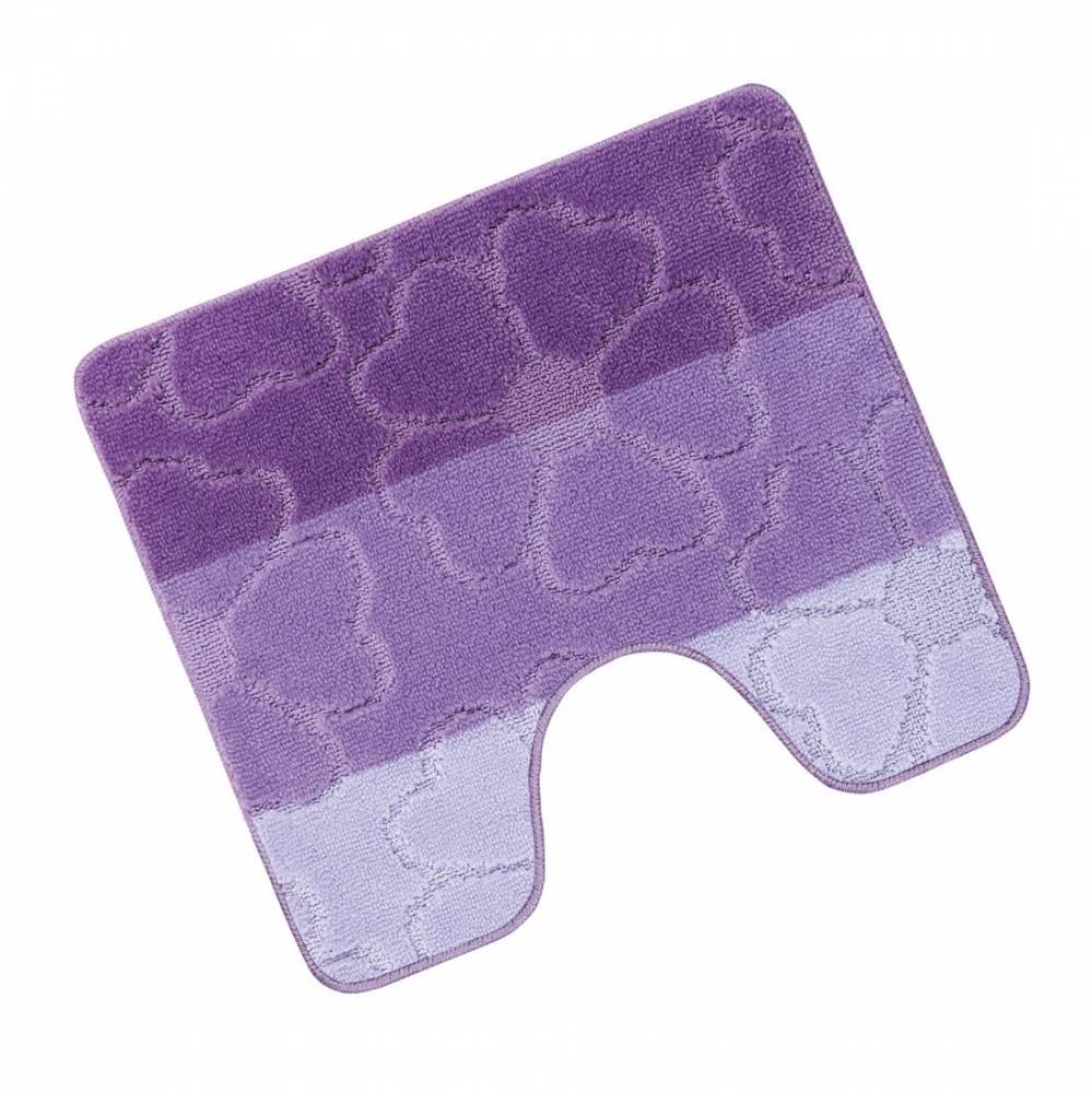 Bellatex Kúpeľňová predložka Avangard Kvety fialová