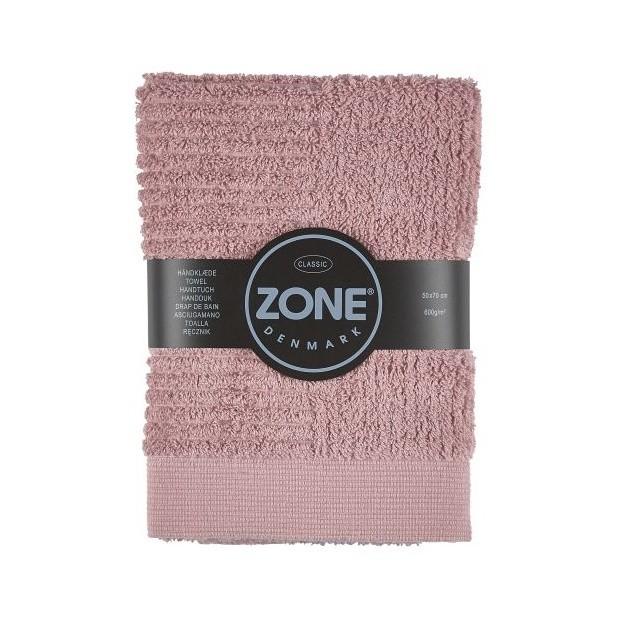 Ružový uterák Zone, 70 x 50 cm