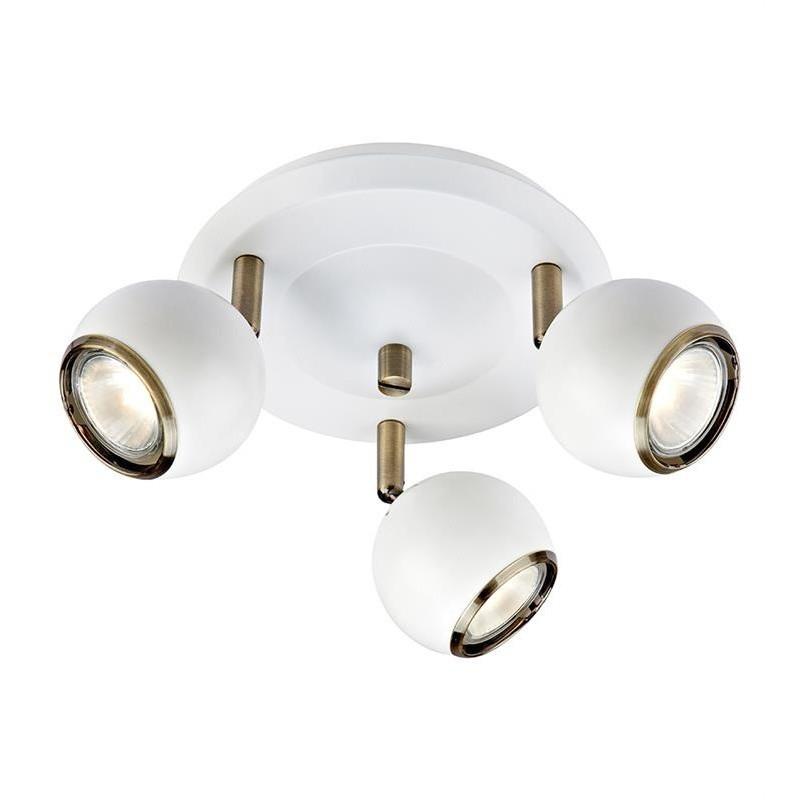 Biele stropné svetlo Markslöjd Coco