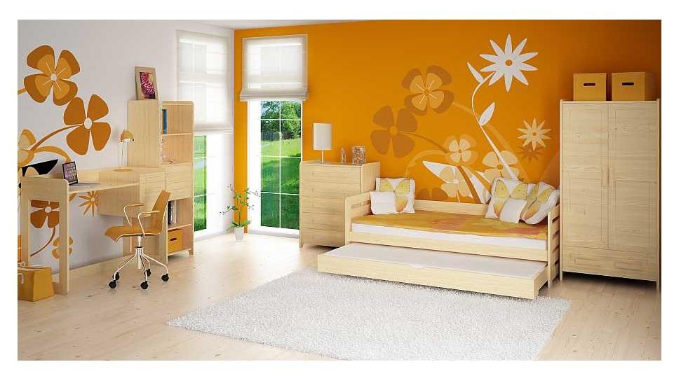 Detská izba Rodos   Farba: morenie