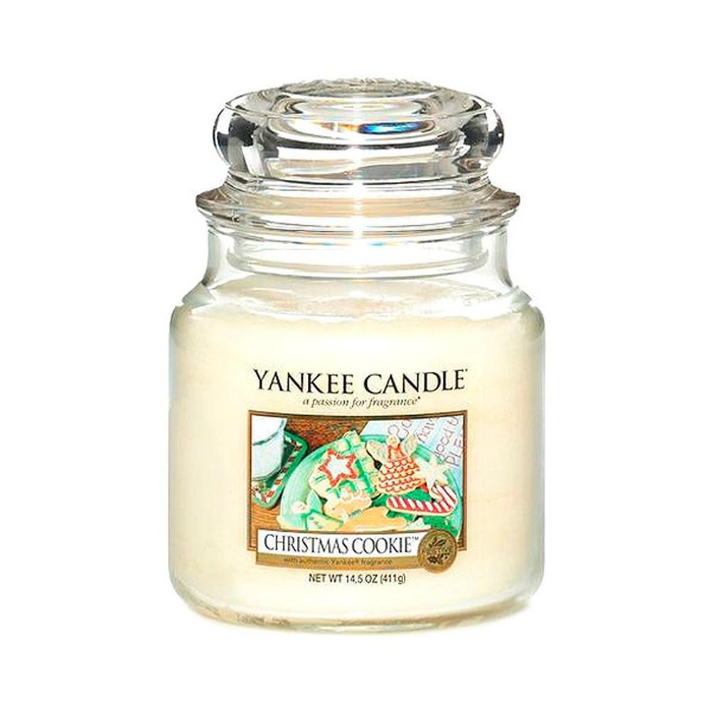Vonná sviečka Yankee Candle Vianočné pečivo, doba horenia 65 - 90 hodín