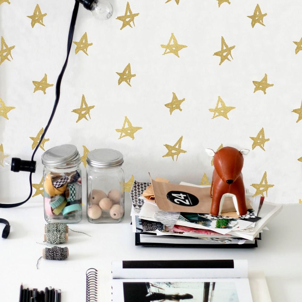 Vinylová samolepka na stenu Little Nice Things Playroom Stars