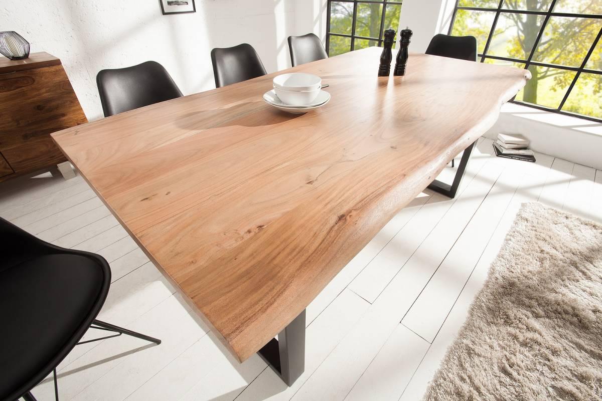 Bighome - Jedálenský stôl MAMMOT 160 cm - prírodná