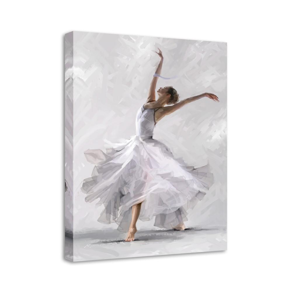 Obraz Styler Canvas Waterdance Dancer II, 60×80 cm
