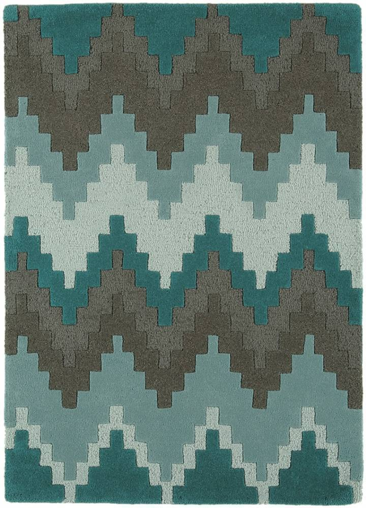 Matrix koberec MAX21 Cuzzo - modrozelená