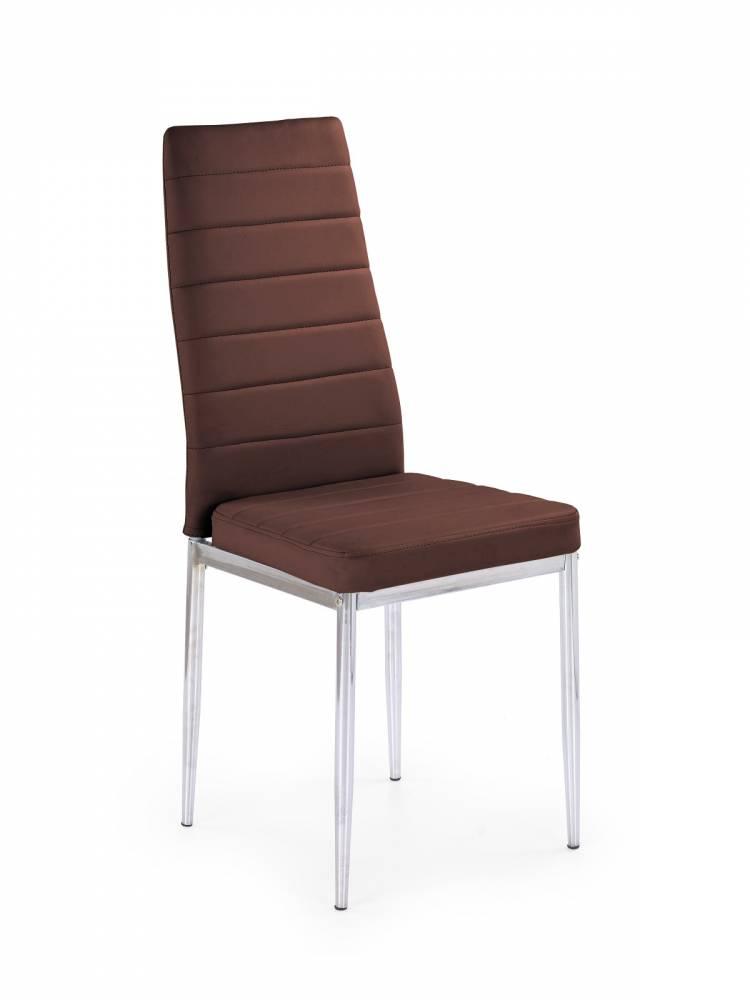 Jedálenská stolička K70C NEW hnedá