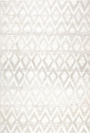 Osta carpets Koberec Piazzo 12124 902 bielošedý 135x200cm