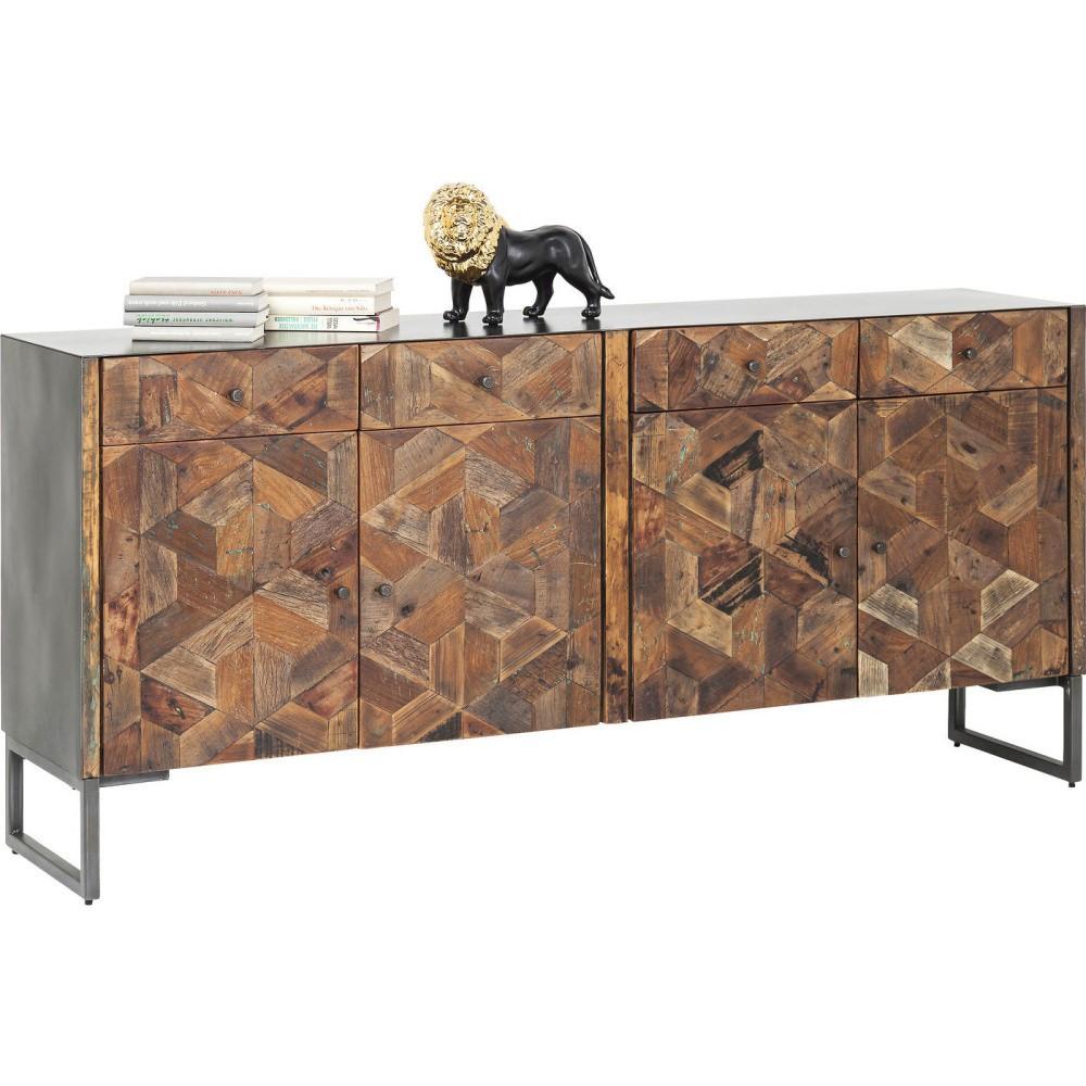 Komoda z recyklovaného dreva Kare Design Hunters Lodge