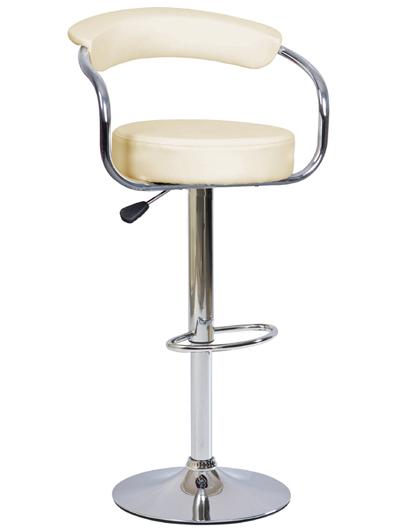 KROKUS C-231 barová stolička, krémová