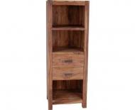 Furniture nábytok  Masívna knižnica z Palisanderu  Kamál  60x45x150 cm
