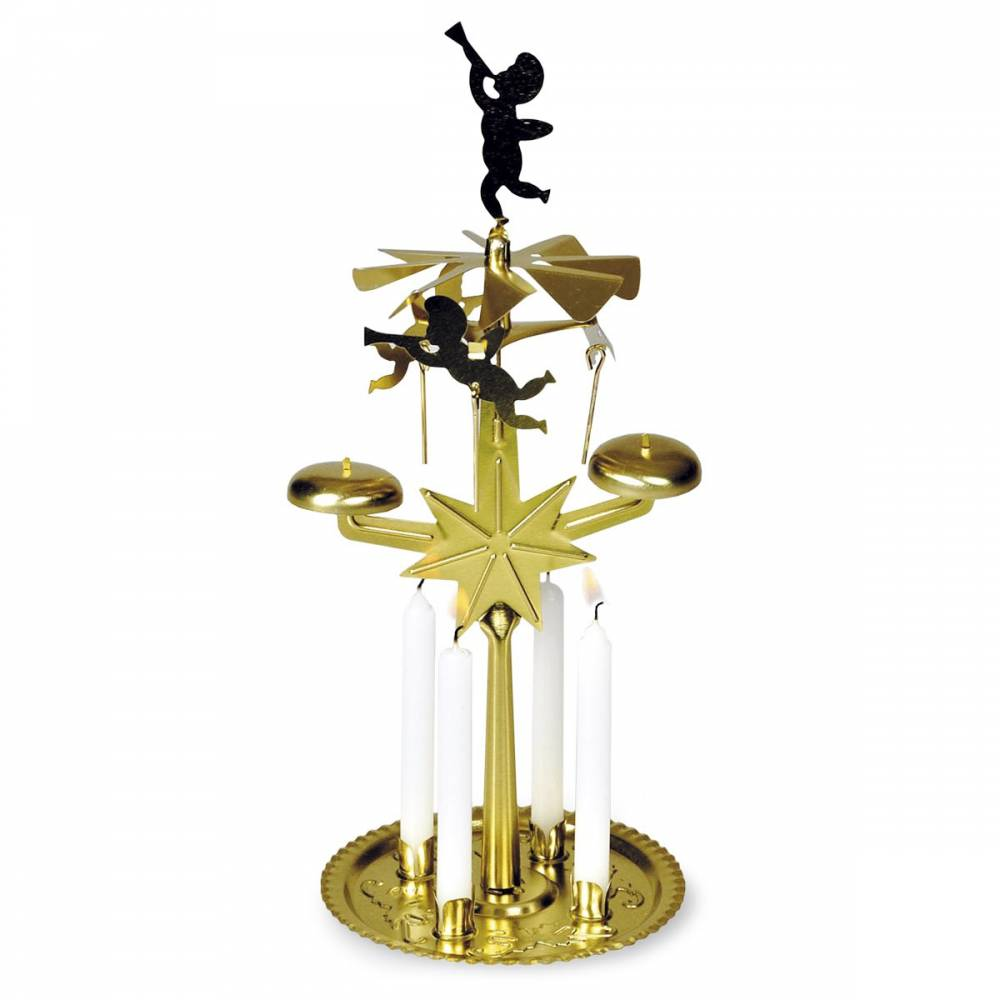 Anjelské zvonenie zlatá, 30 cm