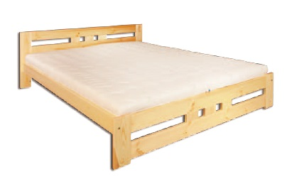 Manželská posteľ 140 cm LK 117 (masív)