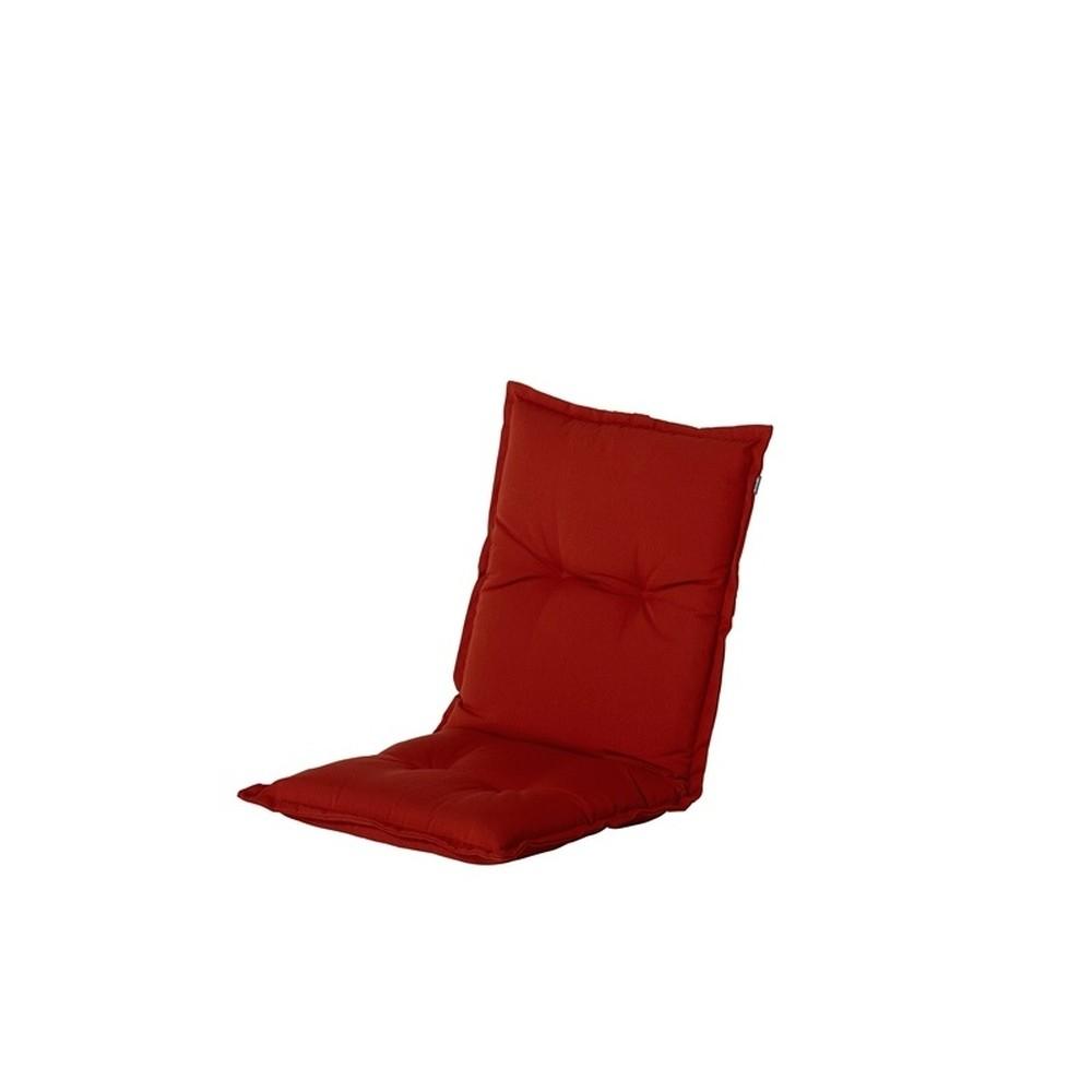 Červený záhradný podsedák Hartman Havana, 100 × 50 cm