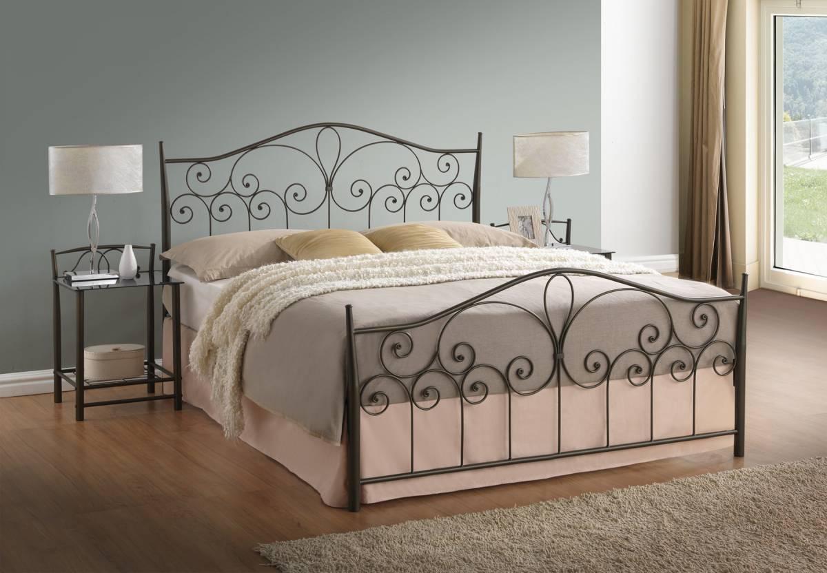 Kovová posteľ LILIE 180