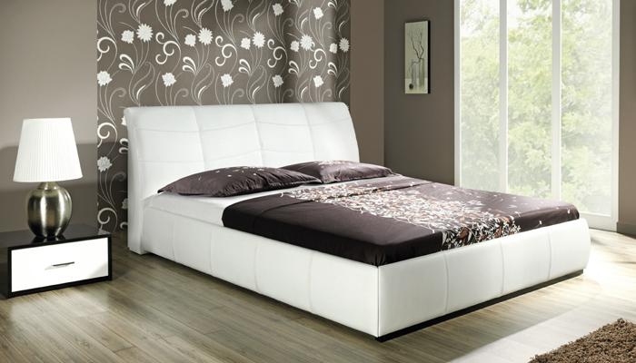 Čalúnená posteľ APOLLOS bez UP, 140x200 cm