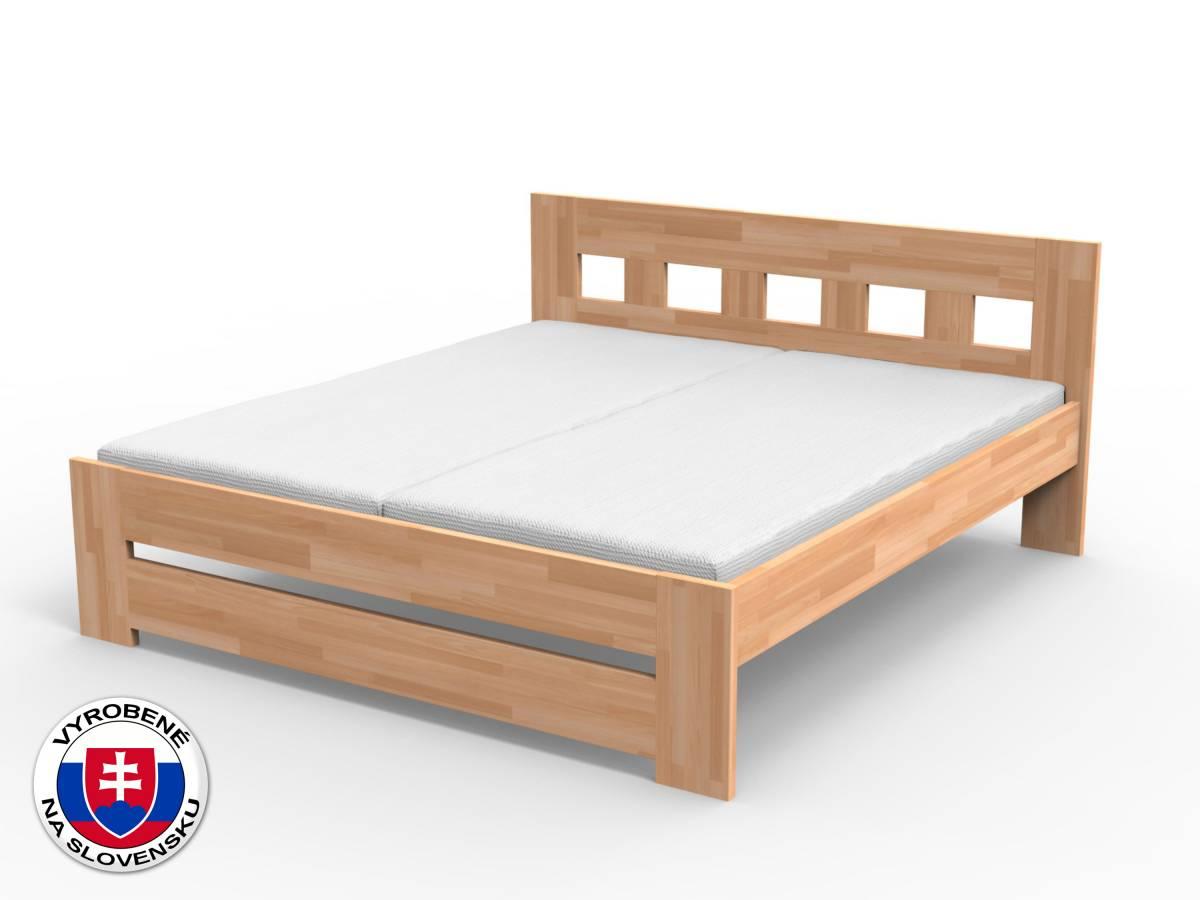 Manželská posteľ 180 cm Jana (masív buk)