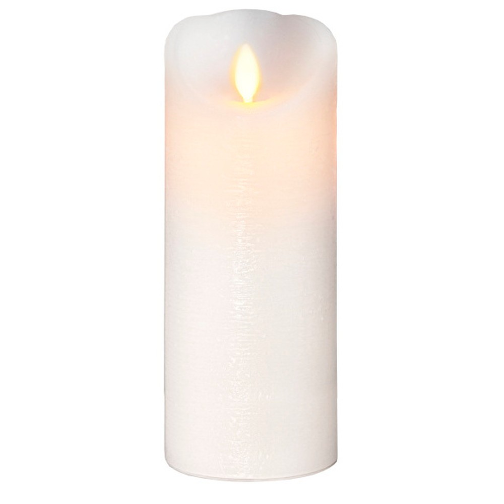 Vosková LED sviečka Best Season Runa, 20 cm