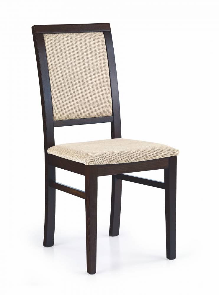Jedálenská stolička Sylwek 1 Wenge + Torent beige