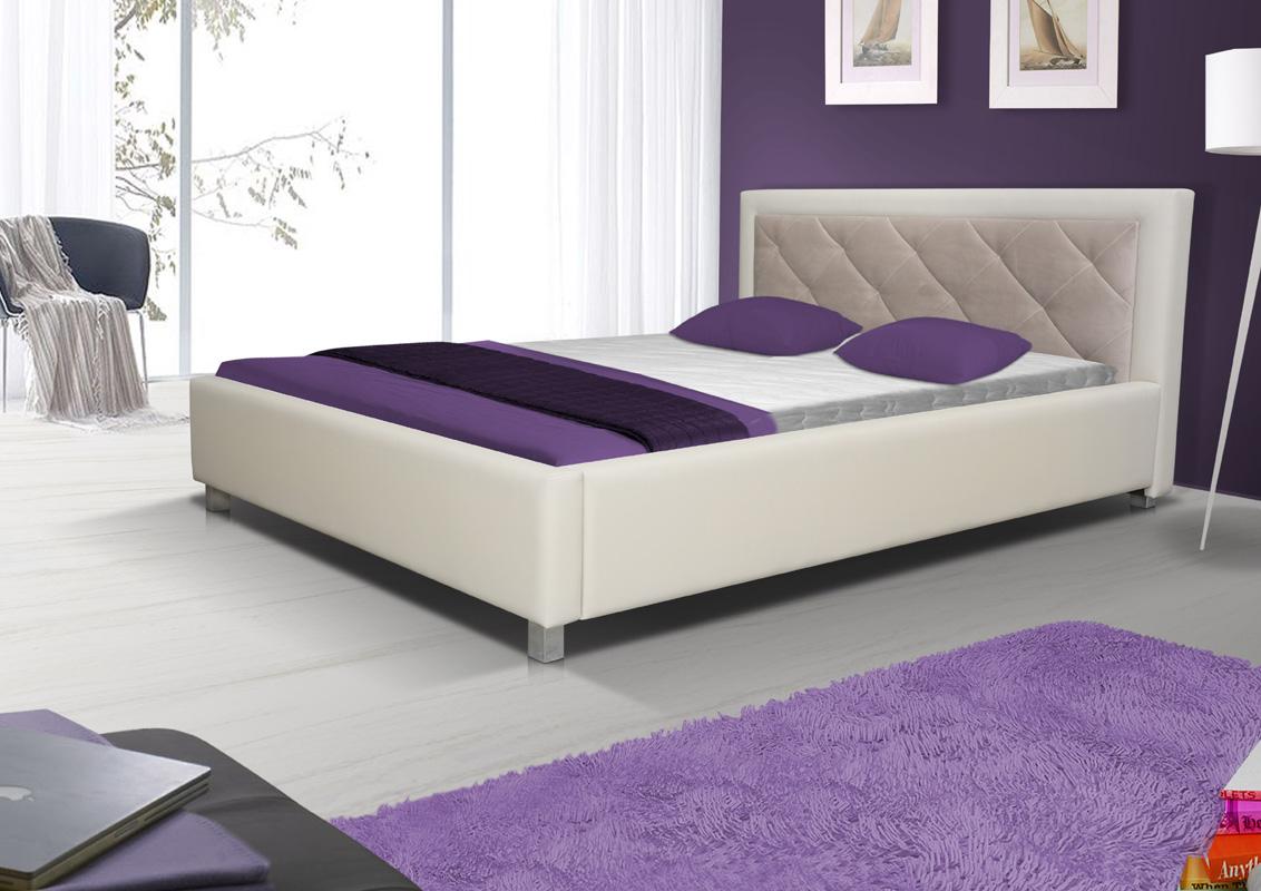 LUBICA VI manželská posteľ s úložným priestorom 160 x 200 cm