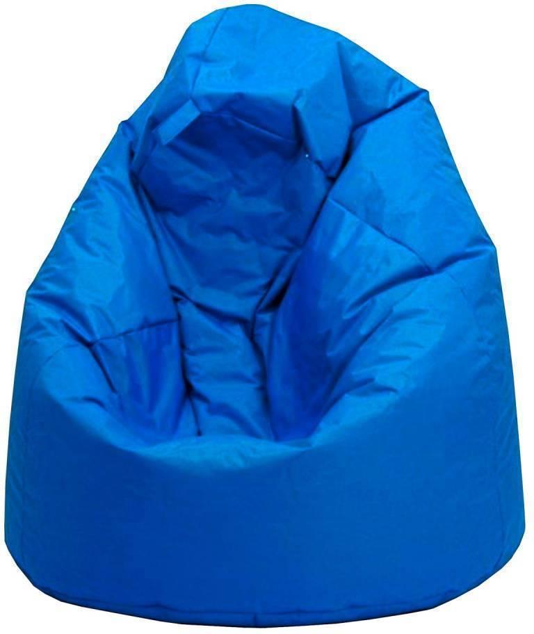 Sedací vak JUMBO modrý