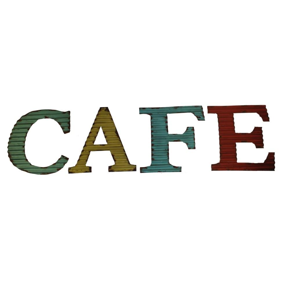 Nástenná dekorácia Antic Line Cafe