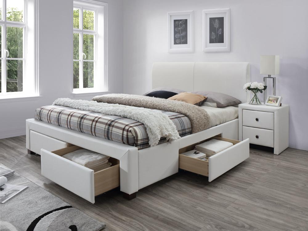 Manželská posteľ 160 cm Modena 2 (s roštom)