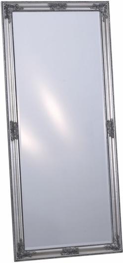 Nástenné zrkadlo BRUSE - strieborná