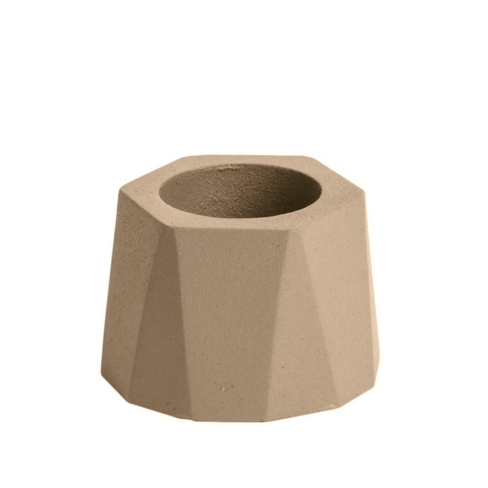 Béžový svietnik PT LIVING Nimble, ⌀ 7,5 cm