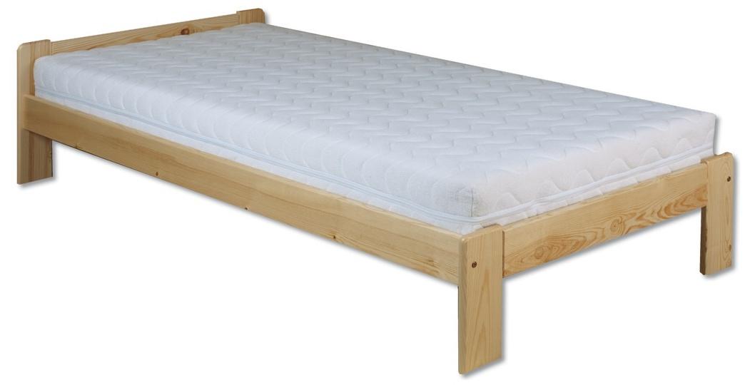 Jednolôžková posteľ 80 cm LK 123 (masív)