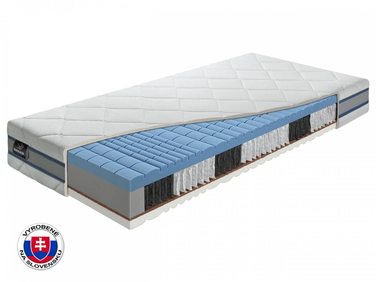 Taštičkový matrac Benab Orthopedic S1000 Plus 195x85 cm (T3/T5)
