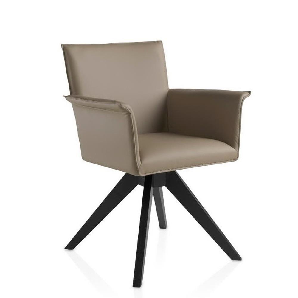 Béžová jedálenská stolička Ángel Cerdá Patty