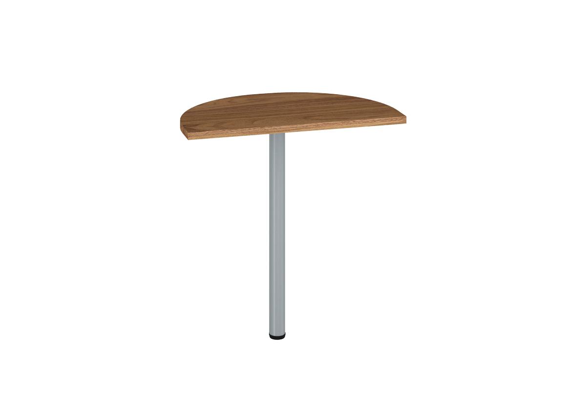 Prídavný kancelársky stôl OPTIMAL 19 / orech prírodný