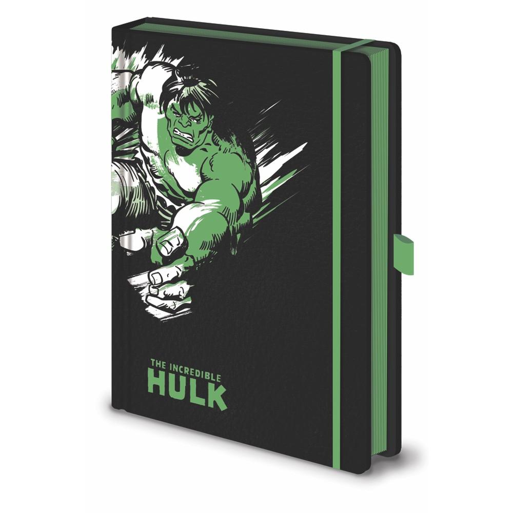 Zápisník A5 Pyramid International Marvel Hulk, 120 strán