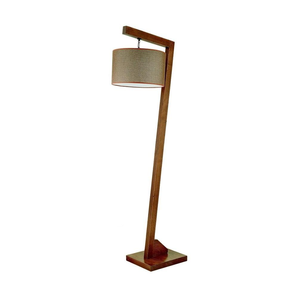 Stojacia lampa z hrabového dreva Rüya
